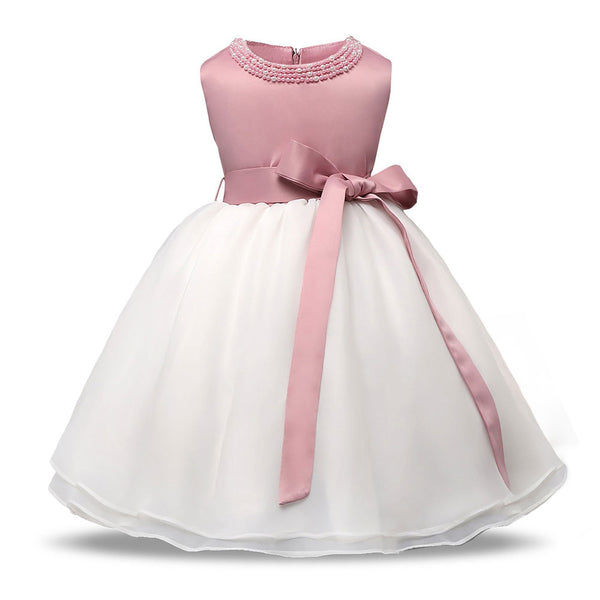 Christening Baby Party Girl Dress Wedding for Girls 1 year Birthday Newborn Kids Dresses Princess Infant tutu Dress Girl Clothes