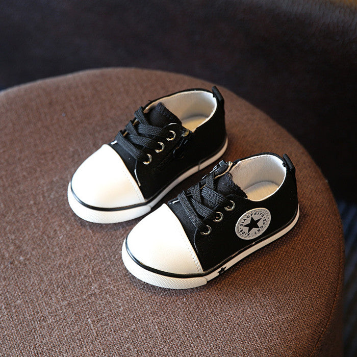 03975c11 Comfy kids Children sneakers boots kids canvas shoes girls boys ...