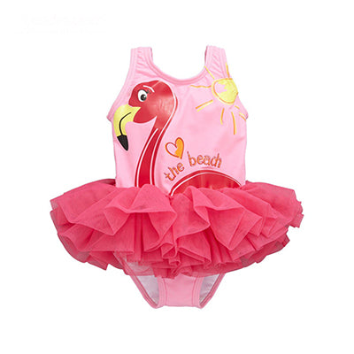 d5de07bc67 DOSOMA Flamingo Girls Swimsuit One Piece Swimwear for Children Tulle Tutu  Beach Wear Bathing Suit Summer Sweet Clothing – Beal | Daily Deals For Moms