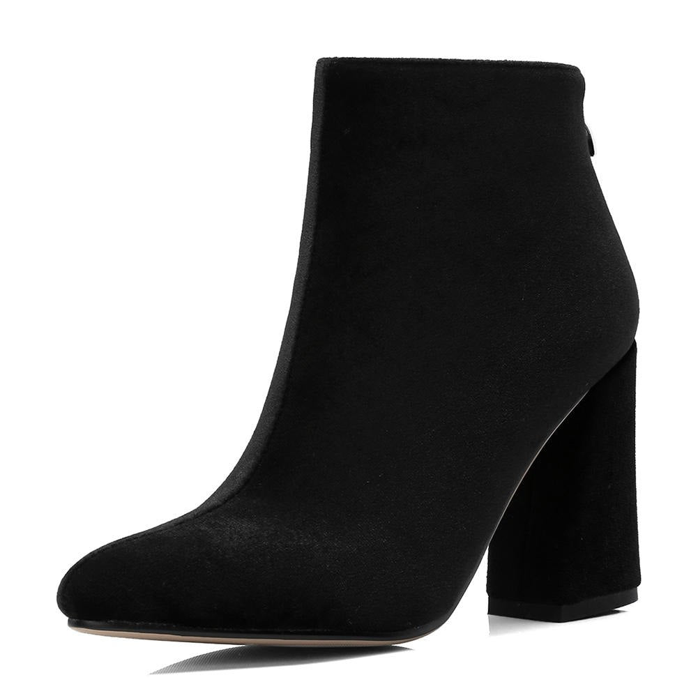 16727d08aae Doratasia Brand Large Size 34-43 Fashion Zip Up Ankle Boots Woman ...