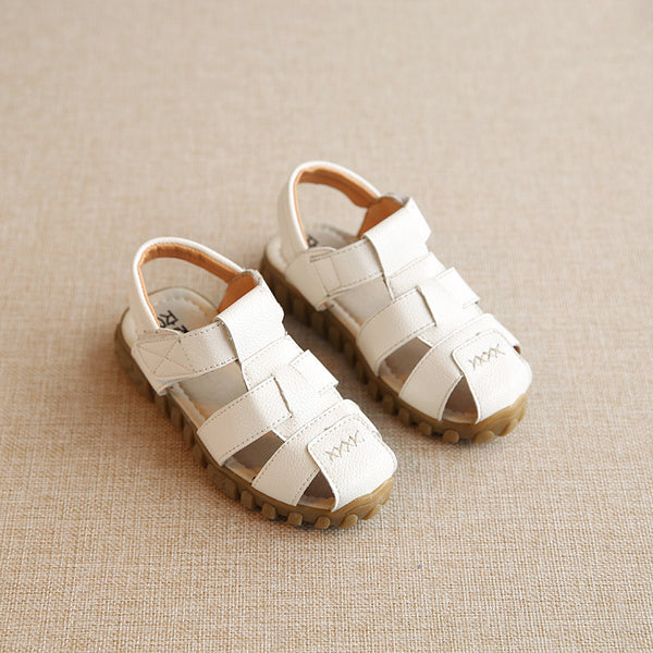 EARTH STAR 2018 New Kids Sandals Boys Girls Summer Sandals Causal Soft Leather Baby Sandals Girls Children Shoes Sandale Fille