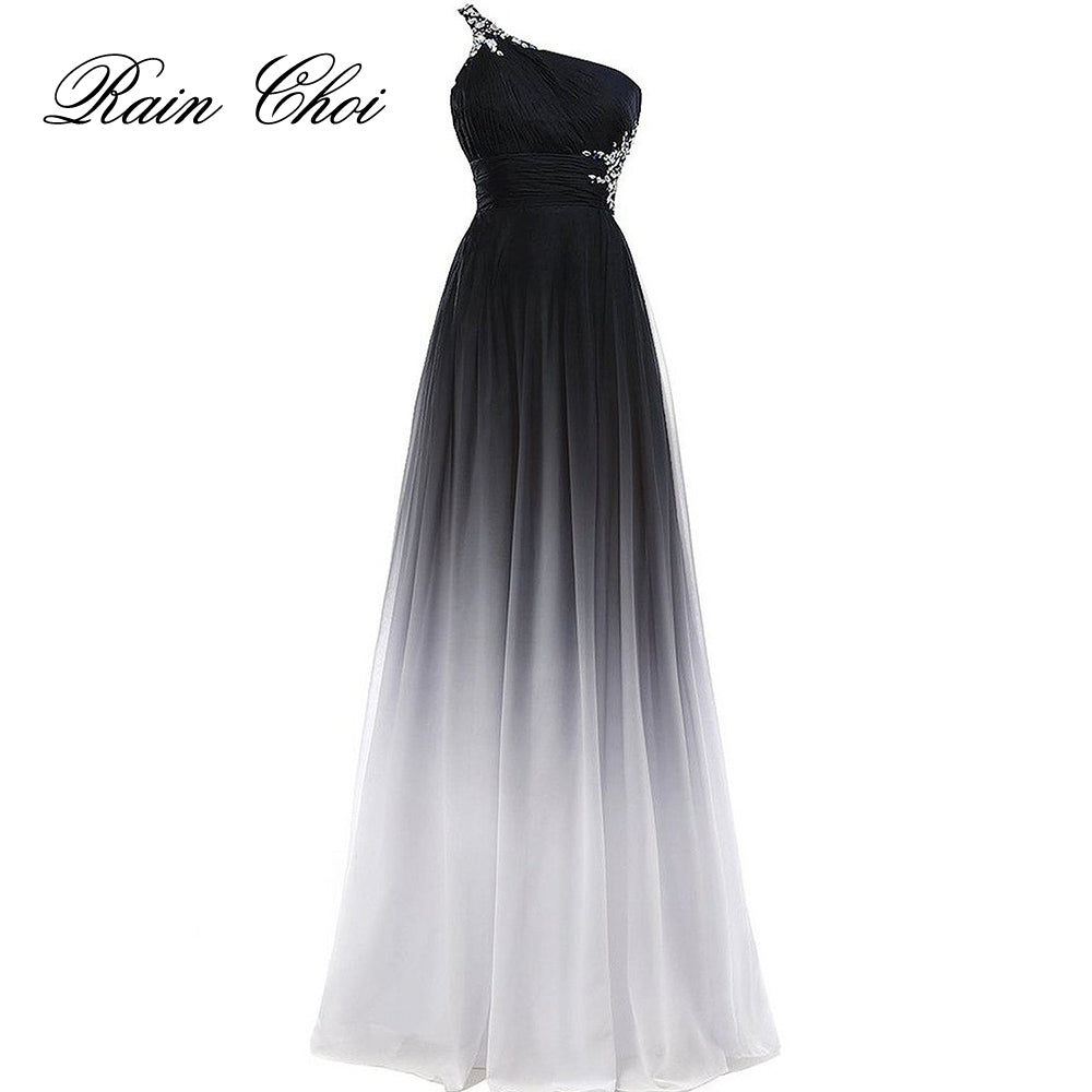 b6df32fa5f5 Elegant Evening Dress 2018 Purple Formal Prom Dresses Black Party Dres –  Beal
