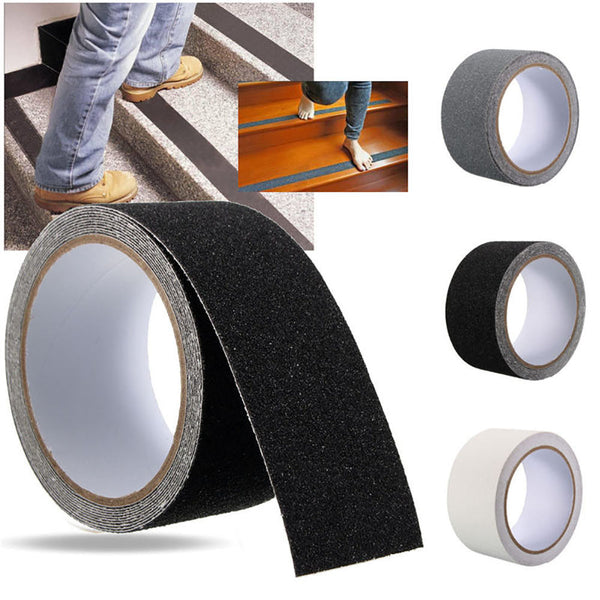 Enipate 2018 Safe Anti Slip Stairs Tapes Harmless PEVA Rubber DIY Bathroom Anti Slip Stickers