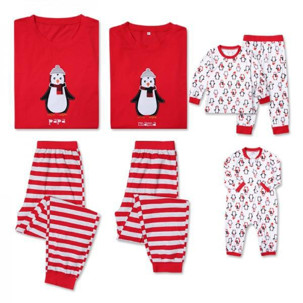 a620c45a9575 Family Christmas Pajamas Family Set Father Mother Kid Toddlers Matching  Clothes Christmas Family