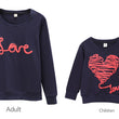Family Clothing 2018 Autumn Mother Daughter Father Boy Clothes set Family Matching Outfits Cotton LOVE Shirt Pants Family Look