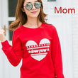 Family Clothing 2018 LOVE Cotton Shirts Mommy and Me Clothes Mother Daughter Father Son Baby Shirts Family Matching Outfits