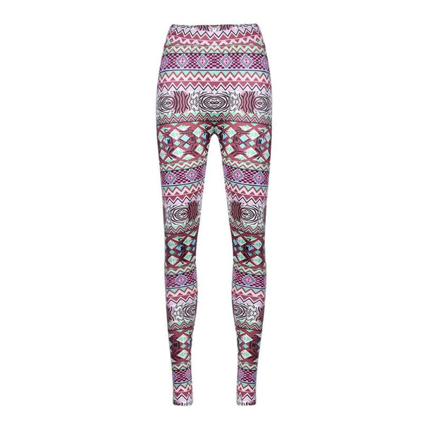 Family Look Mother Daughter Print Skinny Leggings Mom Kids Girls Elastic Pants Parent Child Tights Family Matching Outfits
