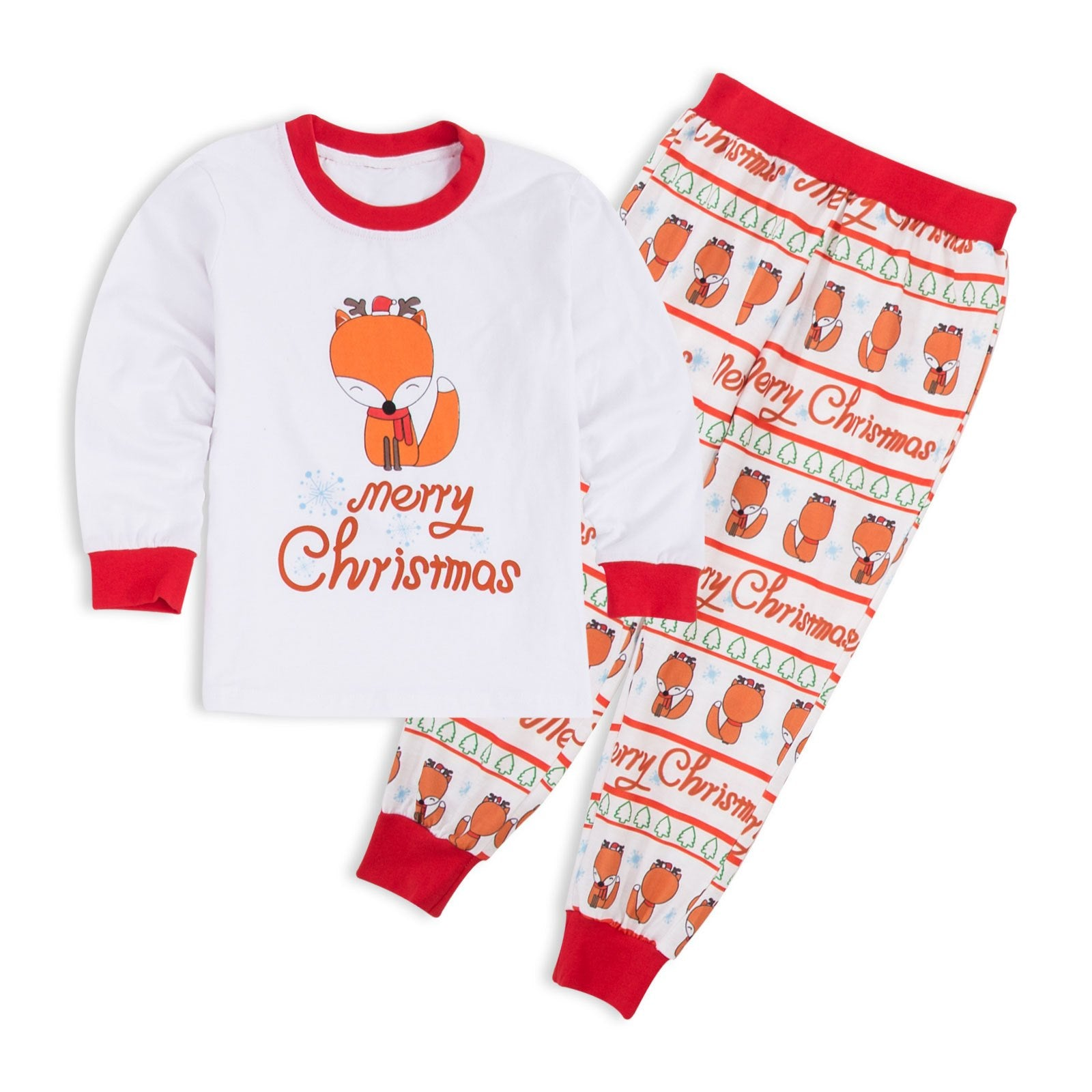 Family Matching Christmas Pajamas Sets 2018 Winter Mother Father Son ...