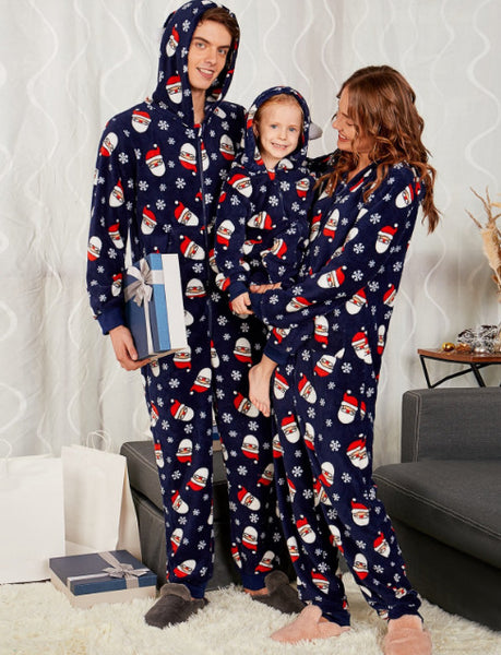 Family Matching Outfit Christmas Pajamas Mother Daughter Father Son Clothes Christmas Family