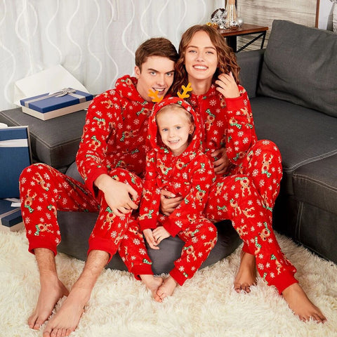 Family sets Christmas Family Pajamas Clothes Set Mommy Daddy boy girl baby Digital Print Family