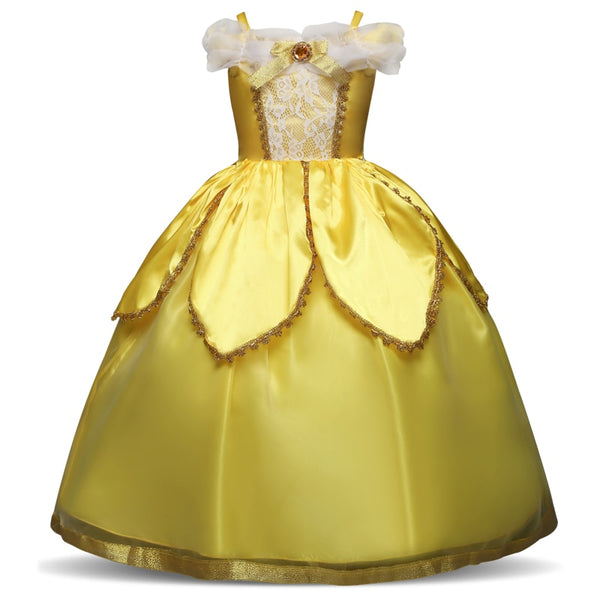 Fantasy Princess Girl Cosplay Costume Little Girl Dress Up Birthday Outfit Party Children Kids Ball
