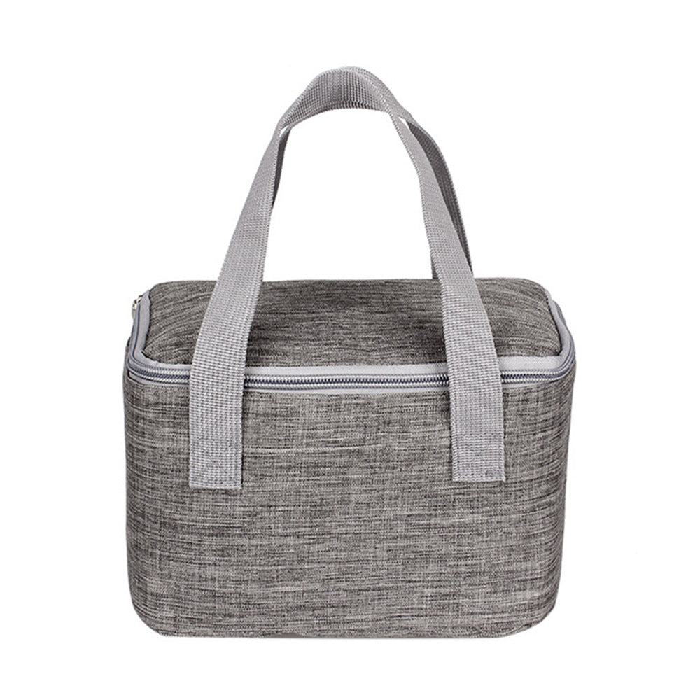 05aece6db78f Fashion Lunch Bag Insulated Cooler Bag Portable Insulated Thermal Cooler  Lunch Box Bento Tote Food