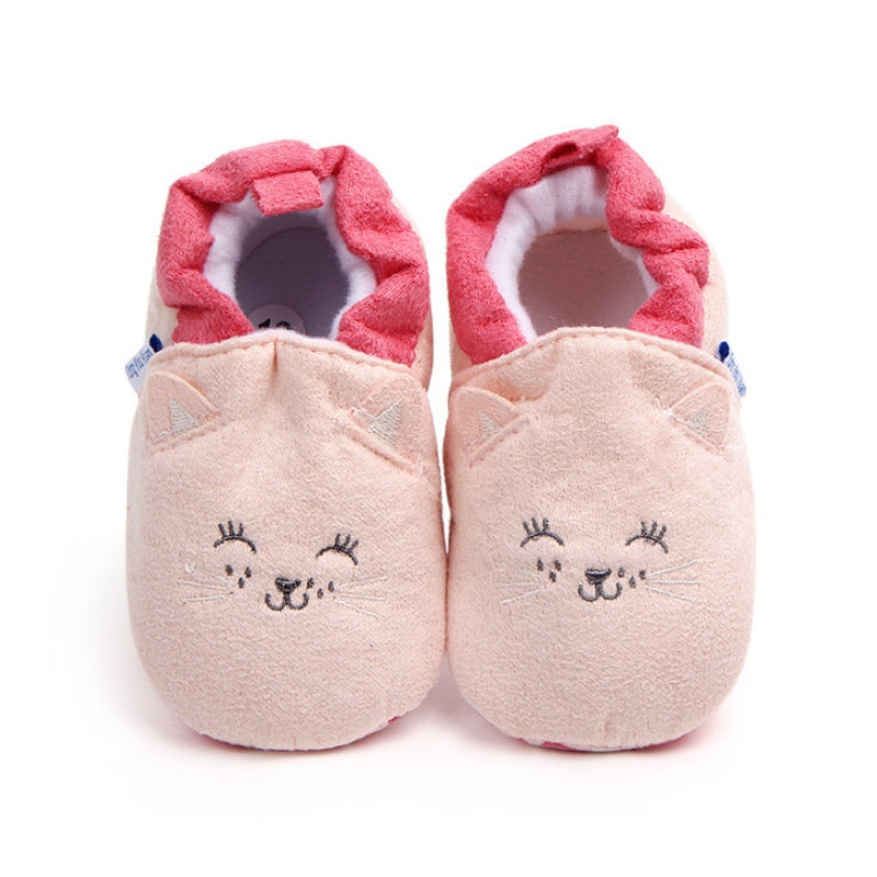 d339fd8fe9f74 Fashion New Spring Autumn Winter Baby Shoes Girls Boy First Walkers  Slippers Newborn Baby Girl
