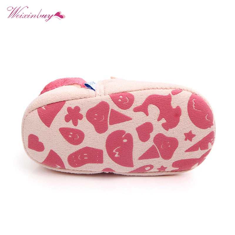 d424b365b6fe Fashion New Spring Autumn Winter Baby Shoes Girls Boy First Walkers  Slippers Newborn Baby Girl Crib Shoes Footwear Booties 0-18M – Beal