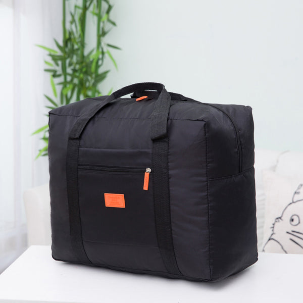 Fashion Women Luggage Travel Bags WaterProof Portable Large Capacity Ladies Bag Nylon Folding Bag Unisex Luggage Travel Handbags