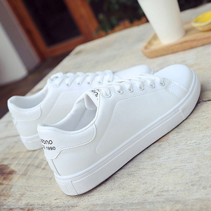 49bfc4ad7303c Female shoes sneakers women casual shoes cheap PU leather 2018 New ...