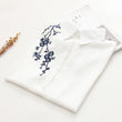 Floral Embroidery Short Sleeve Women Blouses And Shirts White Female Ladies Casual Women's Shirt Tops And Kimono Blusas Blouse