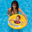 For Kids Over 1 Year Old Safety Baby Swim Seat Floating Ring With Schienale Infant Inflatable Swimming Training Accessories A001
