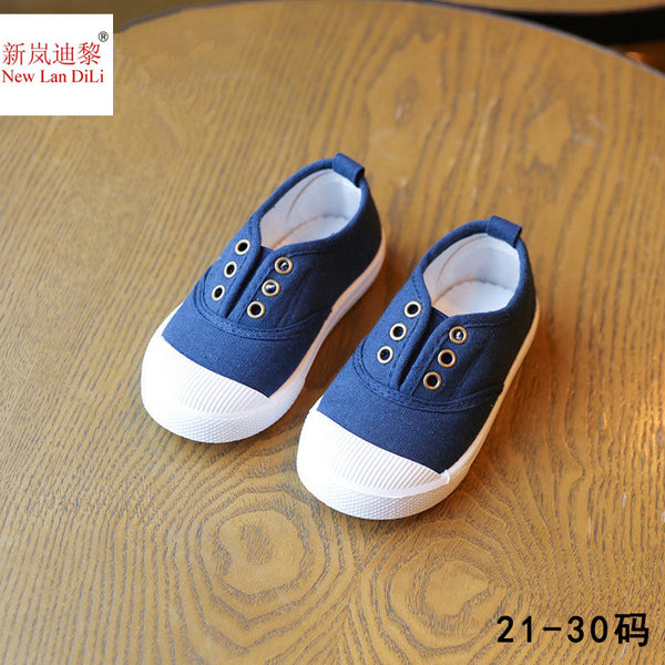 HH Children Shoes canvas sneakers  spring kids fashion girls shoes toddler boy canvas shoes Size
