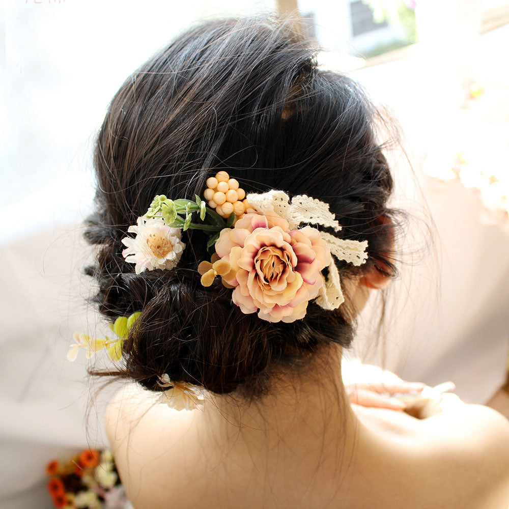 1d53a76178ef2 Hair Clip Women Girl Big Rose Flower Hairpins Hair Clips Wedding Party –  Beal | Daily Deals For Moms
