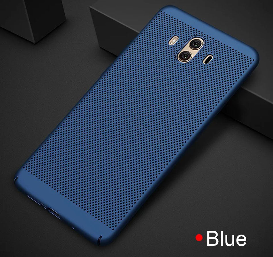 the latest ba24f 8296b Heat dissipation Phone Cases For Huawei Mate 10 Lite Matte Shockproof Cover  For Huawei Mate 10 Pro Mate 10 Plastic PC Hard Case
