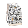 High Quality Backpack Lady Animal Owl Printing Backpack Canvas Book Bags School Bags for Teenage