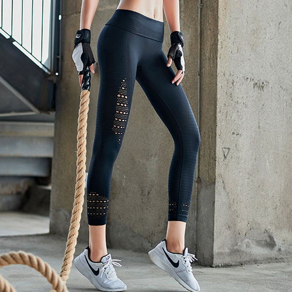 High Waist Seamless Yoga Pants Workout Black Gym Leggings Squat proof Stretchy Pencil pants Fitness Women sport scrunch leggings