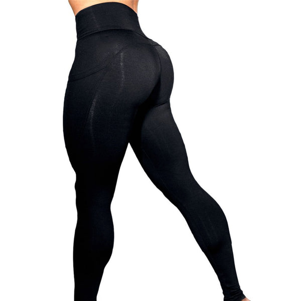 High Waist Women New Leggings Fitness Adventure Time Patchwork Legging High Elastic Workout