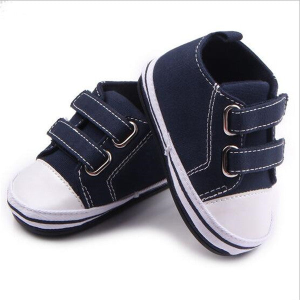 Hot!2016 Baby Canvas Shoes Hard Sole