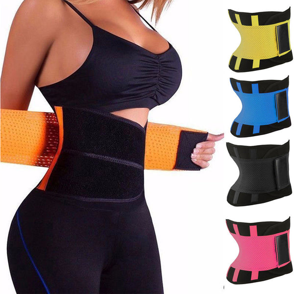 Hot Body Shapers Unisex Waist Cincher Trimmer Tummy Slimming Belt Latex Waist Trainer For Men