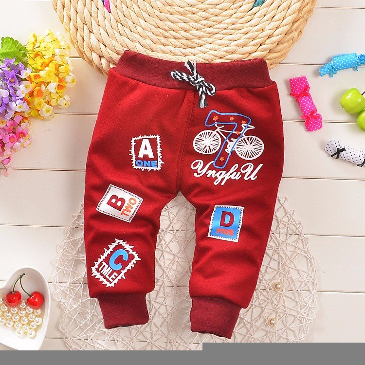bfb89118d0a8 Hot Sale 2016 new winter plus velvet warm baby pants 0-3 year boy ...
