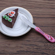 Hot Sales Kawaii Cartoon 3 Pieces Stainless Steel Coffee Desert Spoon Fork Knife Set Children Gift Spoon Set