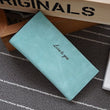 Hot sale new fashion high capacity women wallets lady girl casual long clutch wallet female PU leather flip up card holder purse
