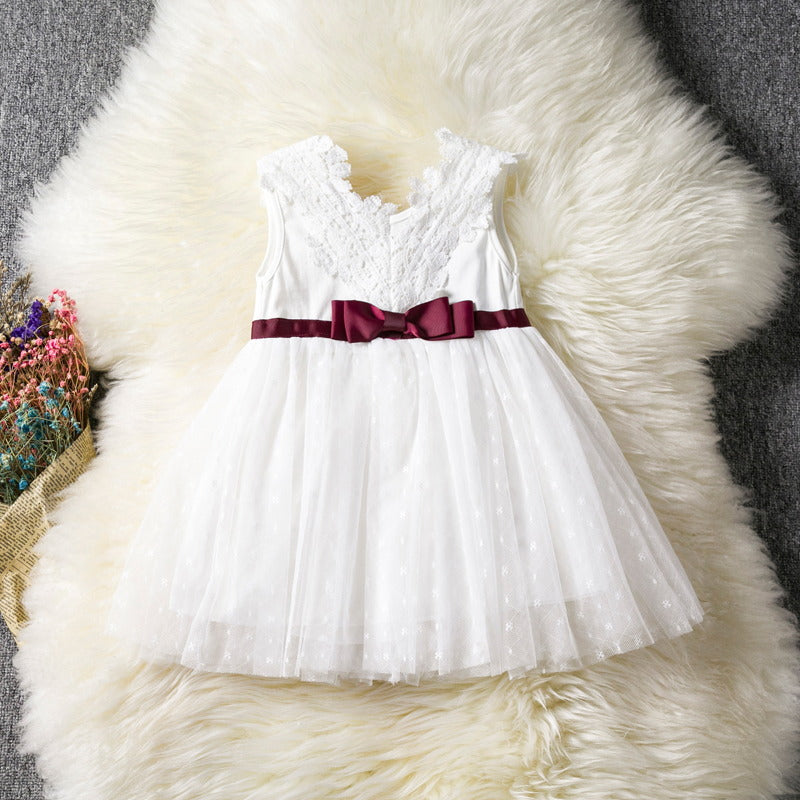 7fae3e0897327 Infant White Dress For Baptism Christening Gown Newborn 1st Birthday Baby  Girl Outfits Toddler Girl