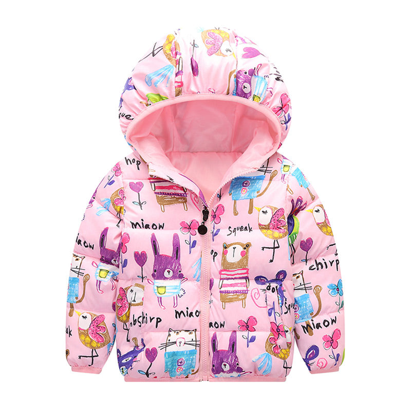 44126be33 JOYHOPY Baby Girls Jackets Autumn Winter Jacket For Girls Winter ...