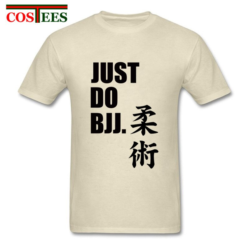1d1ea16b8 Just Do BJJ Letter print T Shirt men Brazilian Jiu Jitsu T-shirt ...