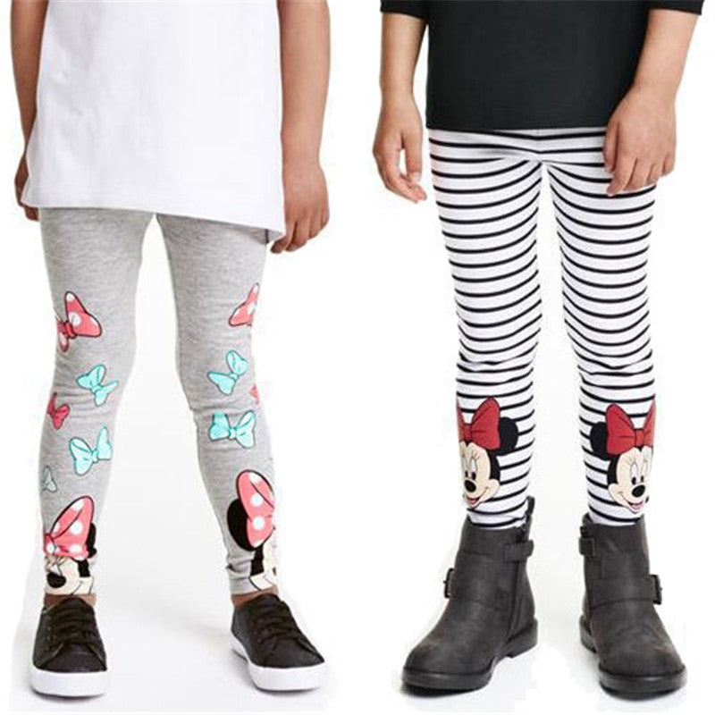 offer discounts genuine shoes price reduced Kids Cartoon Minnie Mouse Pants Clothes Toddlers Children ...