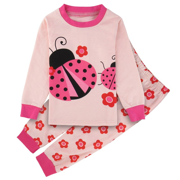 Kids Girls Sleepwear Child Mermaid Cartoon Pajamas Children New year Homewear Pajamas For Girl