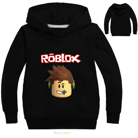 Kids Hoodies Roblox Boys Sweatshirt Long Sleeve Boys Jacket Outwear Hoodies Costumes Clothes