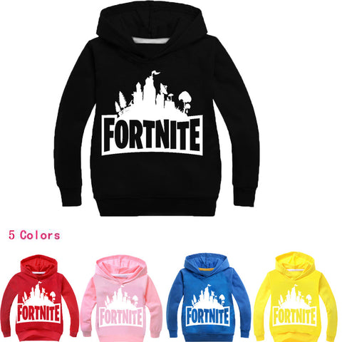 Kids Outwear Fortnite Hoodie Kids Fashion Children Sweatshirts Baby Boys Casual Long Sleeve full
