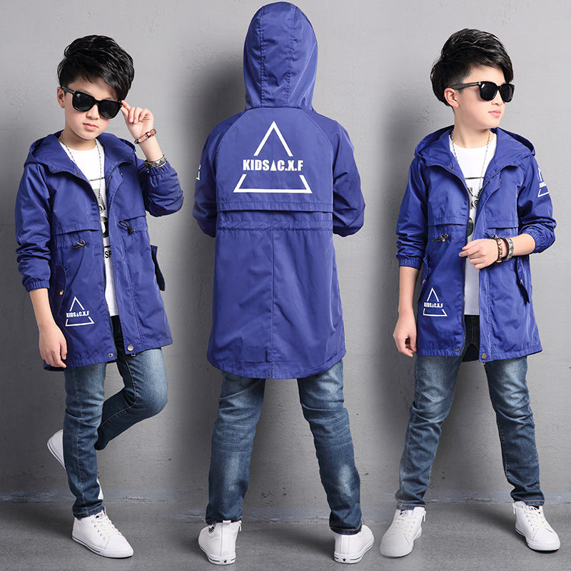 1eb36cbaf Kids Toddler Boys Jacket Coat Hooded Jackets For Children Outerwear  Clothing Minnie Spring Baby Boy Clothes Windbreaker Blazer