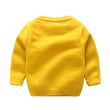 Kimocat Children Choses 2017 Fashion Baby Boys Girls Knitted Sweaters Clothes Popcorn Sweaters