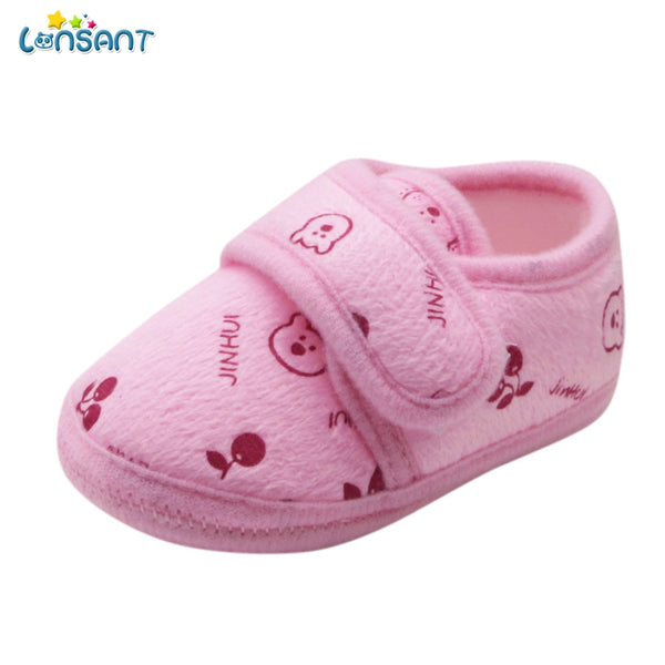 a91614953ba7 LONSANT New Summer Hot Fashion Toddler Newborn Baby Unisex Cotton Fabric  Solid Soft Sole