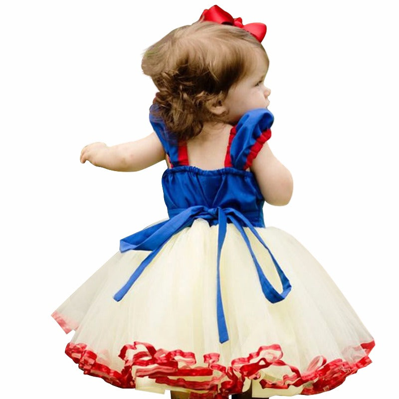 285de73c57b84 Little Princess Girl Cosplay Party Costume Kids Dresses For Girls Tutu  Birthday Outfit Children