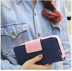 Luxury Designer Famous Brands Long Women Wallets Card Holder Female Clutch Women's Purse Coin
