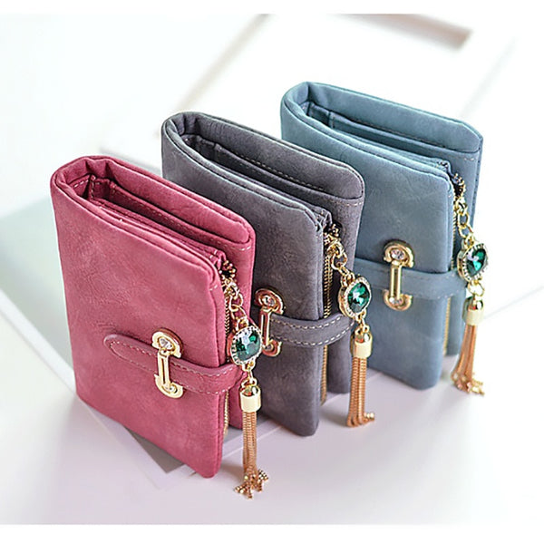 Luxury women's purse Designer Coin Purse Money Bag Card Holders Wallet Female Short Large