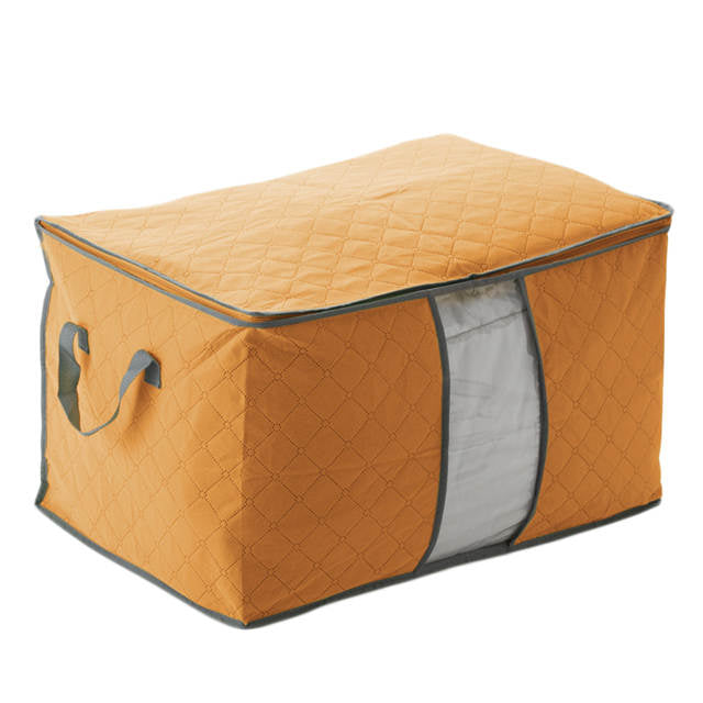 M.J.D Space Saver Clothes Folding Storage BOX Large Non Woven Fabric  Foldable Quilt Blanket Storage Bag Storage Box Pillow U2013 Beal | Daily Deals  For Moms