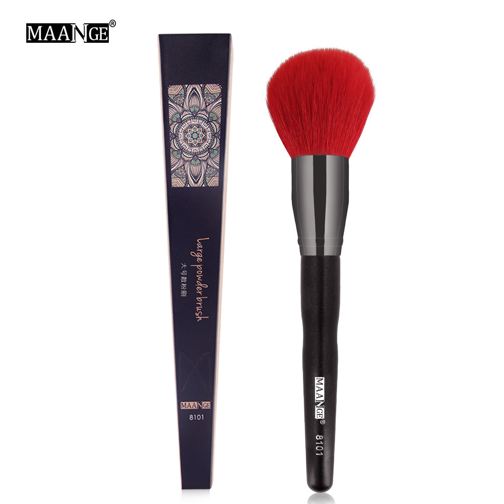 MAANGE 1Pcs High Quality Large Loose Powder Makeup Brush Professional Blush Sculpting Cosmetic