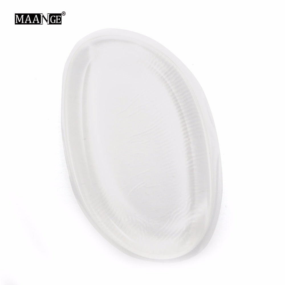 MAANGE 1pcs Silicone Makeup Sponge Silisponge Gel Soft Jelly Cosmetic Puff Liquid Powder Foundation