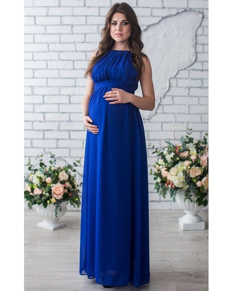 Melario Maternity Dresses 2018 Maternity Photography Props Women Long Maxi Dress Sexy Gown Lace O-Neck Pregnancy Dress